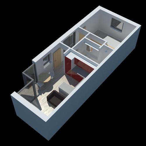 Bungalow 3d Floor Plan: HANSLOPE BUNGALOW CONVERSION